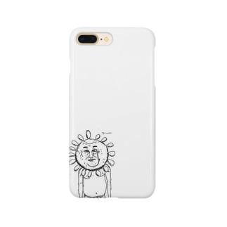げつめんの太陽おじさん Smartphone cases
