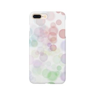 1年間ショップのポワポワ Smartphone cases