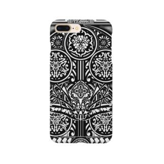 鵺 門 トライバル Smartphone cases