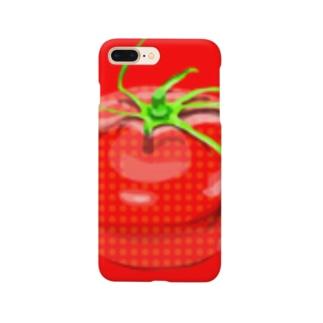 水玉トマト Smartphone cases