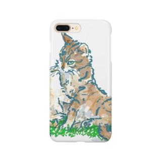 猫ちゃん 親子 Smartphone cases