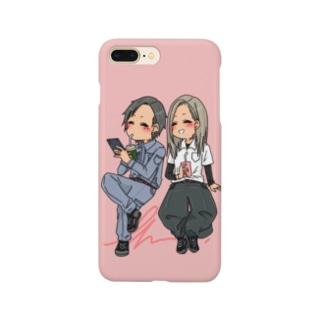 現場人カップル Smartphone cases