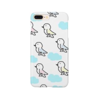 色とりどりの鳥 Smartphone cases