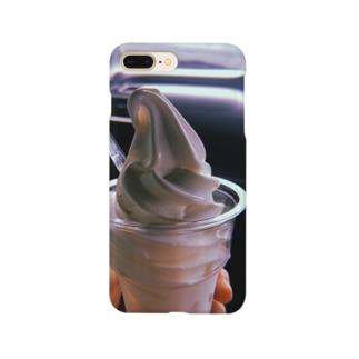 あの夏のソフトクリーム Smartphone cases