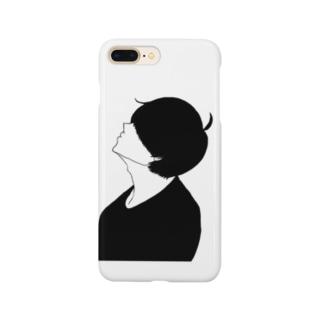 kuroのマッシュくん Smartphone cases