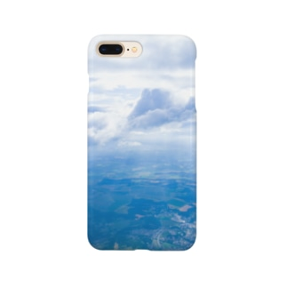 雲と森と街 空 Smartphone cases