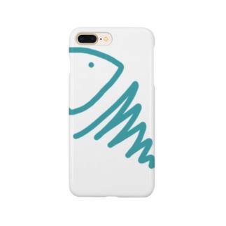 むき出しのさかな Smartphone cases