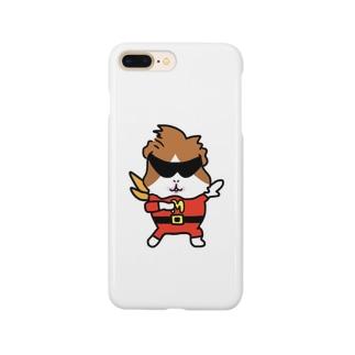 モルモット ぷいぷい戦隊モルレンジャー モルレッド Smartphone cases