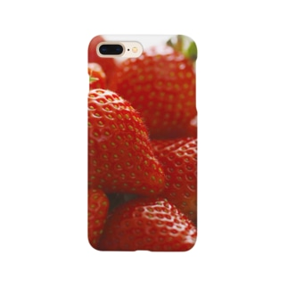 山積みいちご Smartphone cases