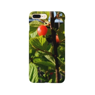 ユスラウメ Smartphone cases