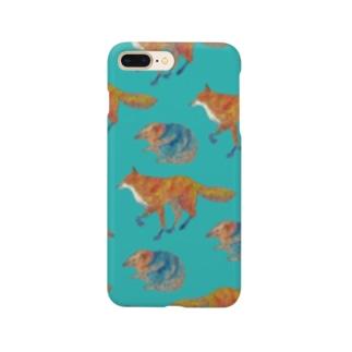Fox and Hedgehog Smartphone cases