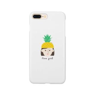 パインガール Smartphone cases