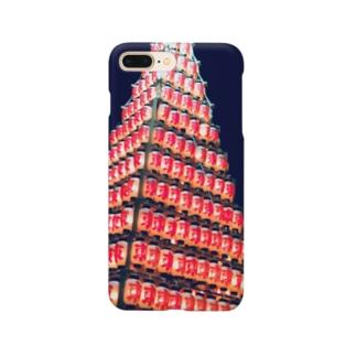 お祭り Smartphone cases