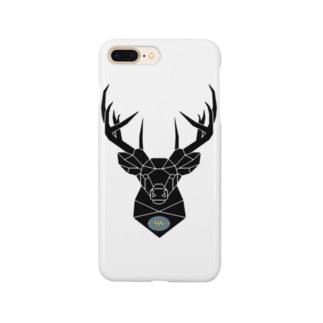 鹿 & ExDNA ロゴ Smartphone cases