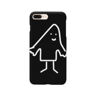 シーツをかぶったひと Smartphone cases