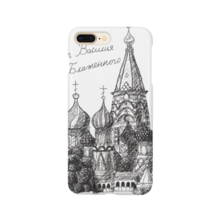 聖ワシリイ大聖堂 Smartphone cases