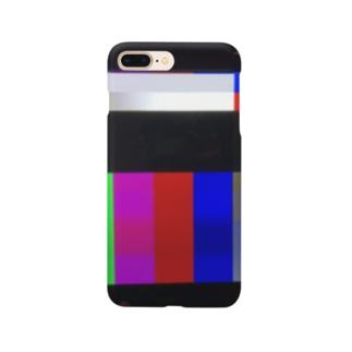 放送休止中 Smartphone cases