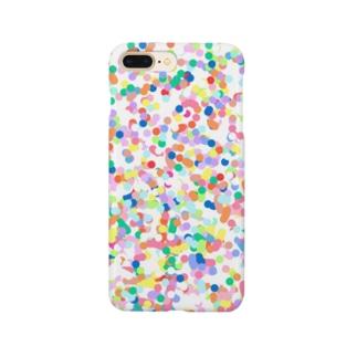 カラフルドット Smartphone cases
