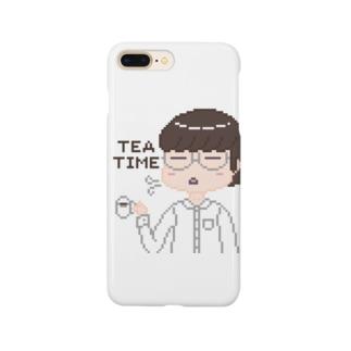 代理くんのTeaTime Smartphone cases