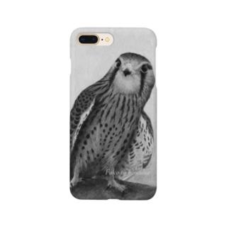 チョウゲンボウ(★寄付) Smartphone cases