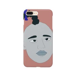 なんとも言えん表情だ Smartphone cases