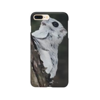 【にこらび】飛ぶかな?エゾモモンガ0724 Smartphone cases