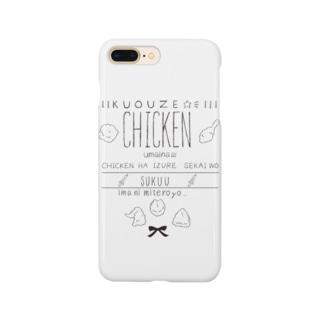 チキンスマホケース Smartphone cases