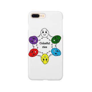 カラフルrice Smartphone cases