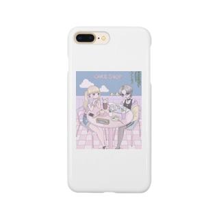 ♡ cafe ♡ Smartphone cases