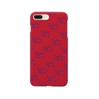 半目のヤンチー Smartphone cases