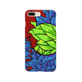 yojiyojiのダリア Smartphone cases