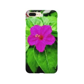 白粉花(オシロイバナ) Smartphone cases