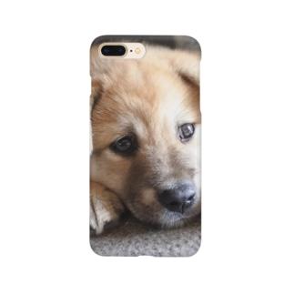 柴犬 垂れ耳まるちゃん Smartphone Case