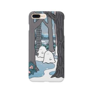 森のオバケちゃん(よる) Smartphone cases