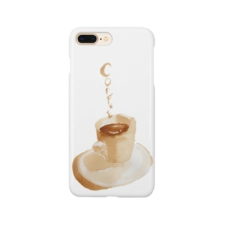 「Hot coffee」 Smartphone cases