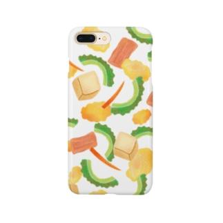 ごーやちゃんぷるー Smartphone cases