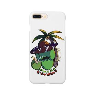 Coco&Palms サボテンペレス🌵 Smartphone cases