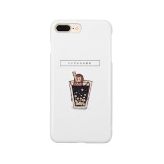 タピオカ中毒者 Smartphone cases