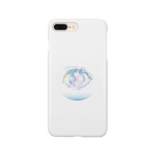 もやもやの目 Smartphone cases