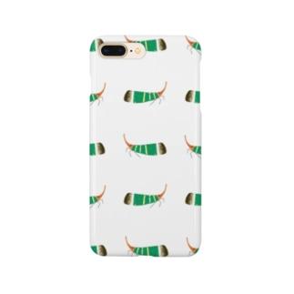 テングビワハゴロモちゃんたくさん携帯カバー Smartphone cases