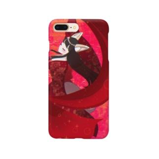 狐の踊り子 Smartphone cases