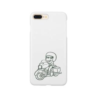 バイク乗りくん Smartphone cases