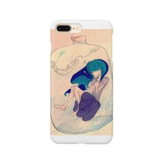 小瓶の中の少女 Smartphone cases