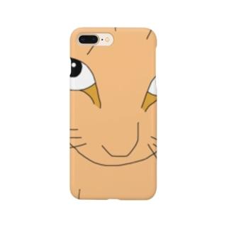 ドアップ猫 Smartphone cases