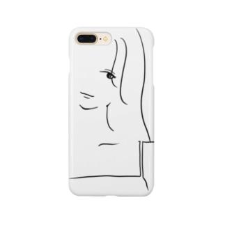 サラッとgirl Smartphone cases