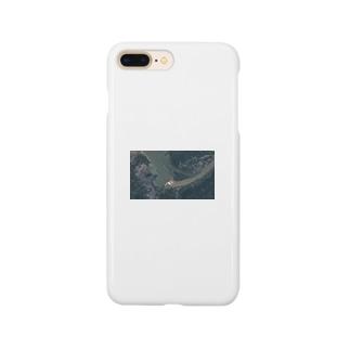 三峡ダム放水の図 Smartphone cases
