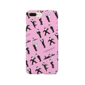 ファランチェスコ_スマホケース_ピンク Smartphone cases