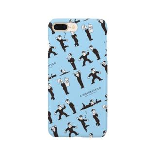 フランチェスコ_スマホケース_ブルー Smartphone cases