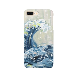Asahi art styleの浮世絵 葛飾北斎 Smartphone cases