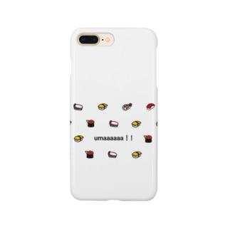お寿司大好き Smartphone cases
